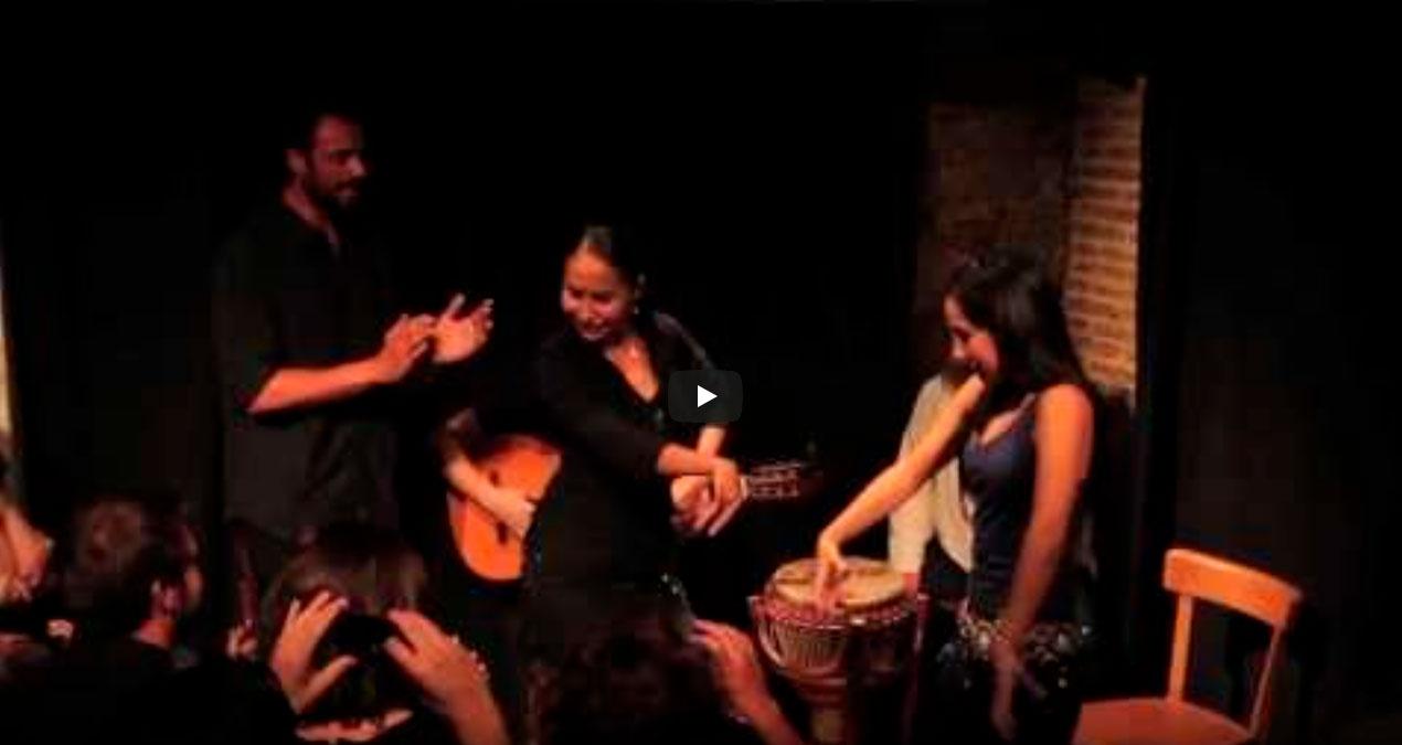Actuación-flamenca-Barcelona