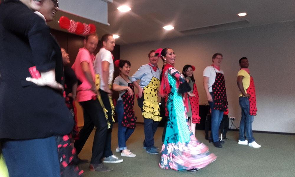 Eventos para empresas Flamenco - Lucero Cárdenas