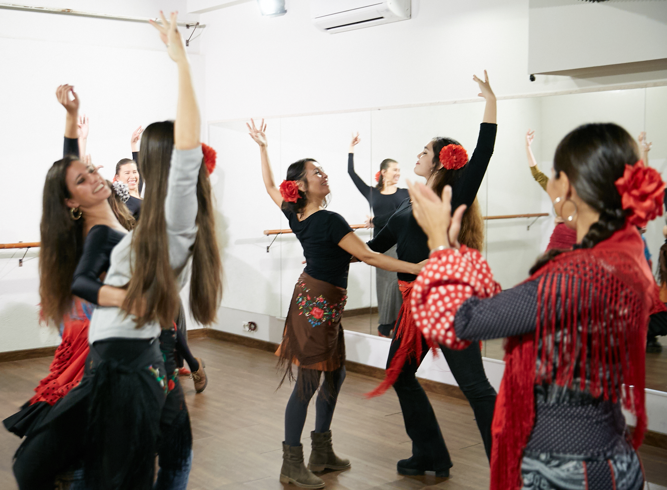 Aprender a bailar Sevillanas - Lucero Cárdenas