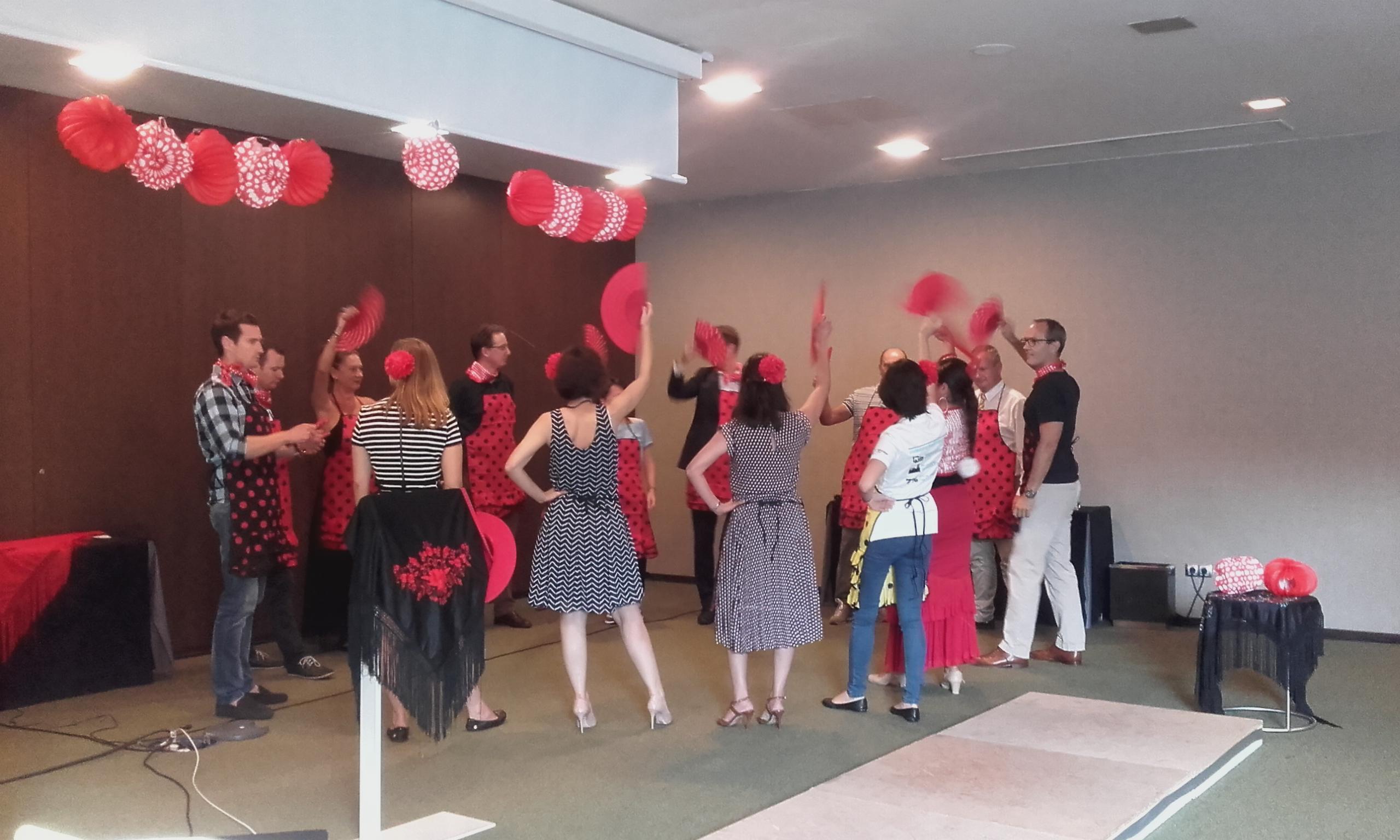 Evento Flamenco para empresas - Lucero Cárdenas