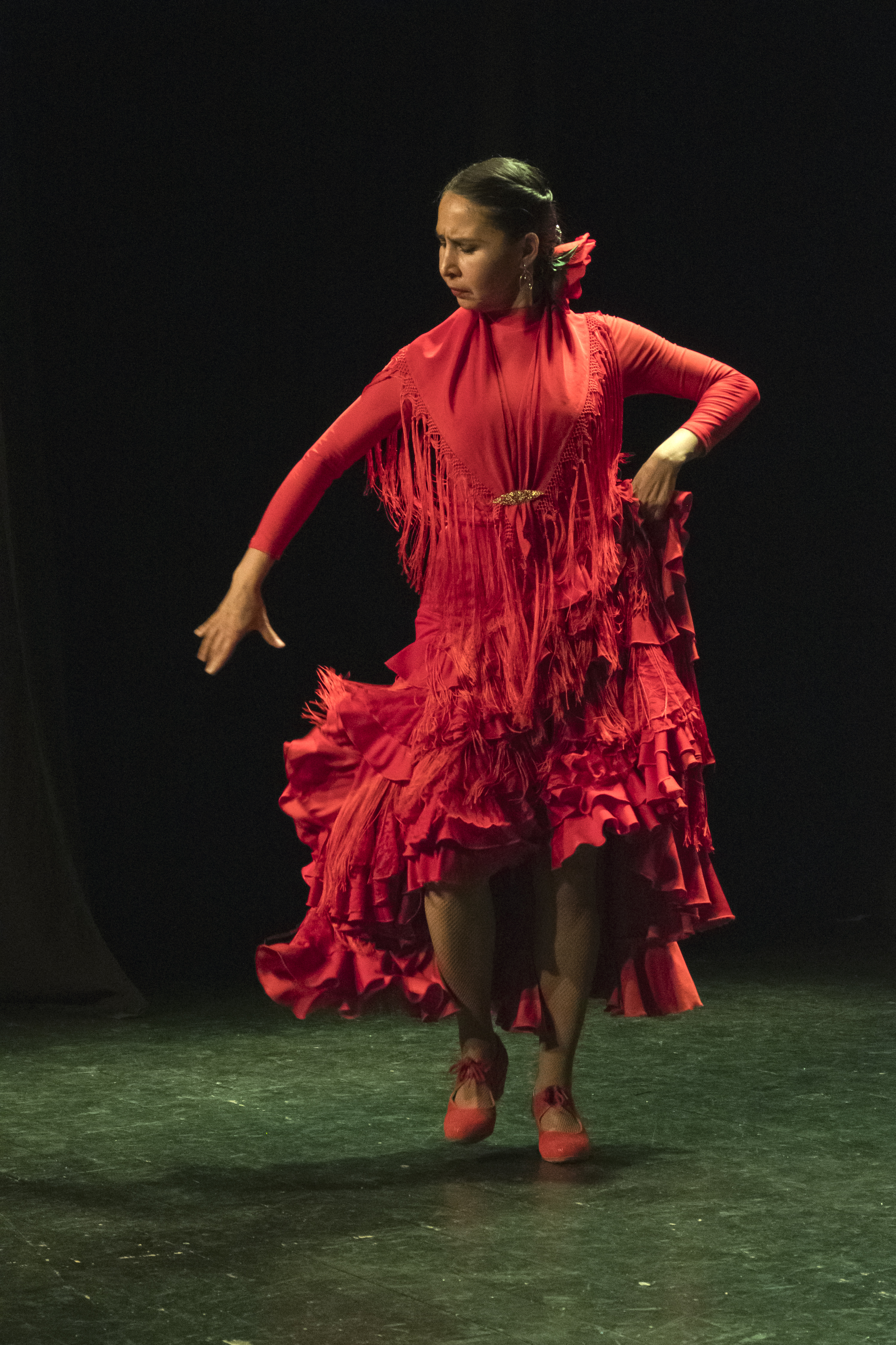 Lucero Cárdenas Flamenco dancer Barcelona