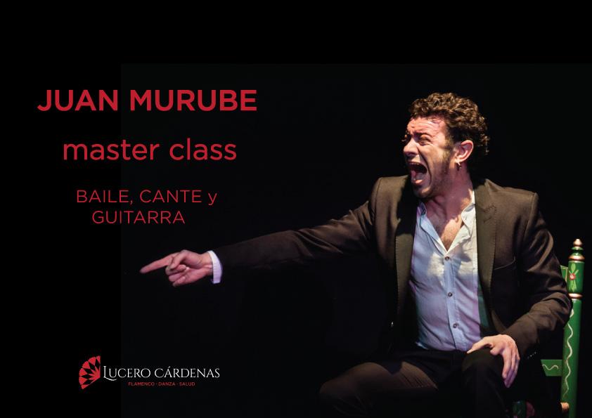 master class Juan Murube flamenco barcelona
